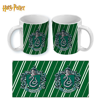 Taza Harry Potter Slytherin Stripes