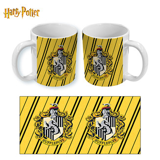 Taza Harry Potter Hufflepuff Stripes