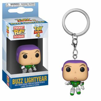 Llavero Buzz Lightyear Toy Story 4 POP!