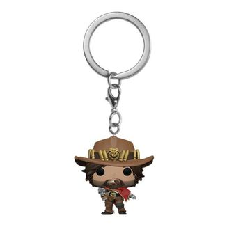 McCree Keychain Overwatch POP!