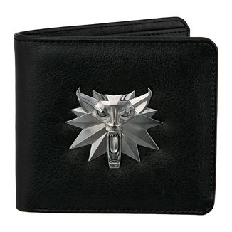 White Wolf The Witcher 3 Wild Hun Bifold Wallet