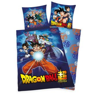 Dragon Ball Super Reversible Duvet Set Characters