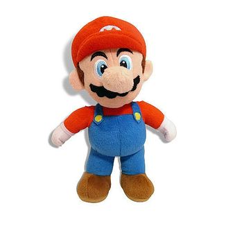 I'm me! Mario Plush -  Super Mario Bros