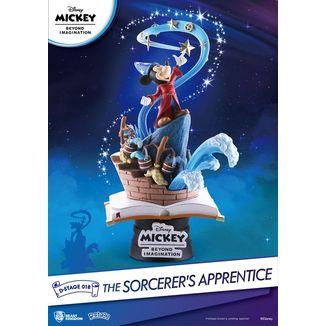 Figura Mickey Beyond Imagination Diorama The Sorcerer's Apprentice D-Stage Disney