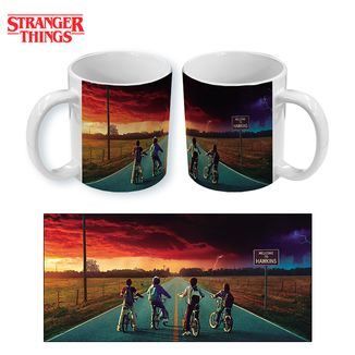 Taza Stranger Things Bikes