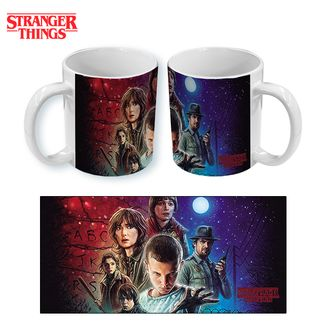 Taza Stranger Things Poster