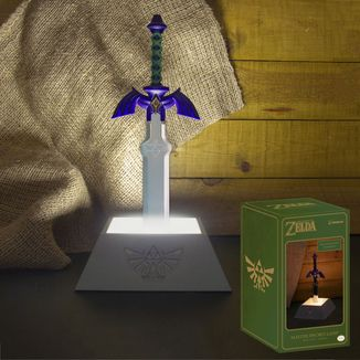 Lámpara 3D Espada Maestra The Legend Of Zelda