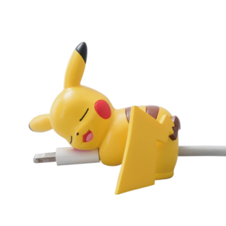 Pikachu Gashapon Pokemon Sleeping Cable