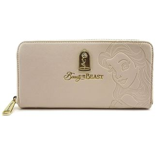 Debossed Belle Wallet Beauty And The Beast Disney
