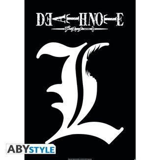 Poster Death Note L Symbol 91.5 x 61 cms