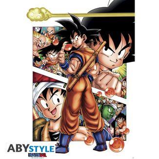Poster DB Goku Story Dragon Ball 91.5 x 61 cms
