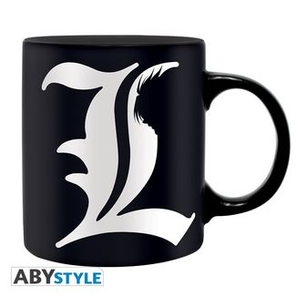 Taza L y Reglas - Death Note