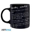 Taza L y Reglas - Death Note