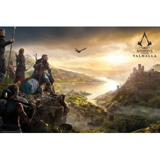 Poster Assassin's Creed Valhalla Vista
