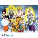 Poster Grupal Dragon Ball Z Set 52 x 35 cms