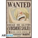 Poster Zoro & Sanji Wanted One Piece Set 52 x 35 cms