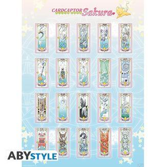 Poster Clear Cards Card Captor Sakura 52 x 38 cms