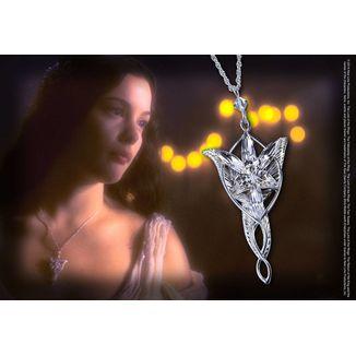 Colgante Estrella del Atardecer Arwen Evenstar El Señor de los Anillos Plata de Ley