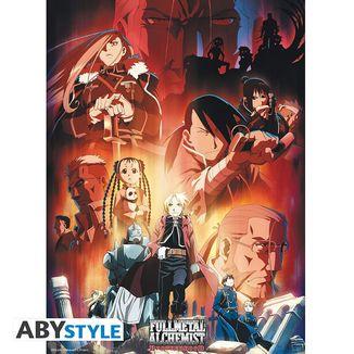 Poster Grupo Fullmetal Alchemist 52 x 38 cms