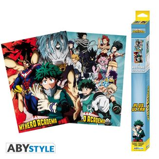 Poster Artworks My Hero Academia Set 52 x 38 cms