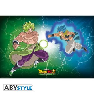 Broly VS Gogeta Poster Dragon Ball Super  91,5 x 61 cms