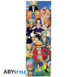 Poster de Puerta Crew One Piece 53 x 158 cms