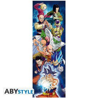 Poster de Puerta Universo 7 Dragon Ball Super 53 x 158 cms