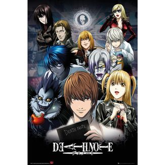 Death Note Collage Poster 91.5 x 61 cms