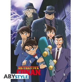 Poster Detective Conan Grupo 52 x 38 cms