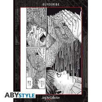 Poster Glyceride Junji Ito 52 x 38 cms