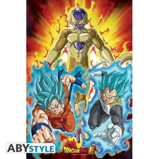 Golden Freezer Poster Dragon Ball Super 91.5 x 61 cm