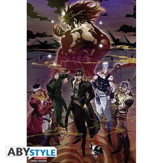 Poster Group Jojo's Bizarre Adventure Stardust Crusaders 91,5 x 61 cms