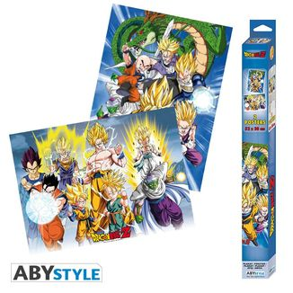 Group Dragon Ball Z Poster Set 52 x 35 cms