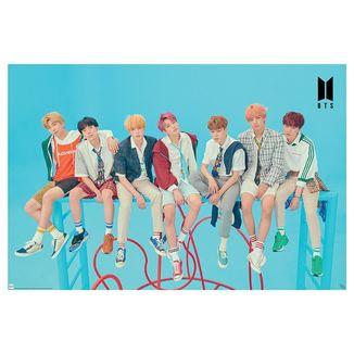 Poster Group Blue BTS 91.5 x 61 cms