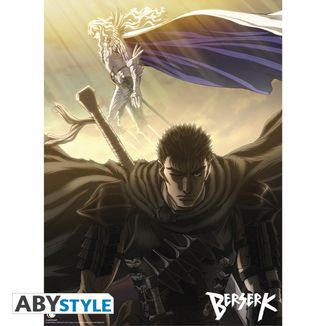 Poster Guts y Griffith Berserk 52 x 38 cms
