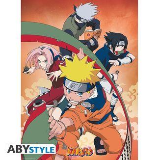 Poster Equipo 7 Naruto 52 x 38 cms