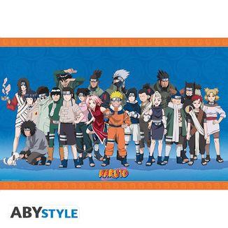Poster Ninjas de Konoha Naruto 91,5 x 65 cms