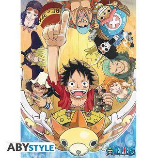 Poster Nuevo Mundo One Piece 52 x 38 cms