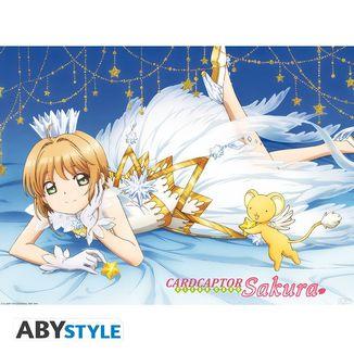 Poster Sakura Card Captor Clear 52 x 38 cms