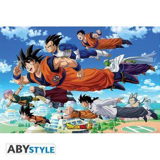 Son Goku & Co Poster Dragon Ball Z 91.5 x 61