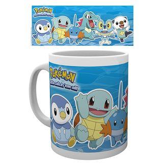 Pokémon Water Type Mug Pokémon 320 ml