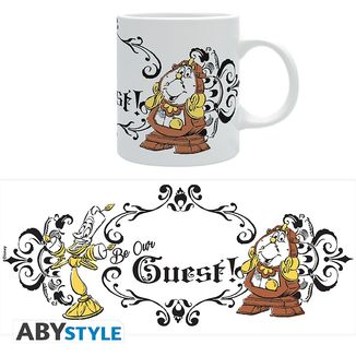 Ding Dong and Lumiere Mug Beauty and the Beast Disney 320 ml