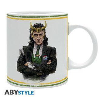 Taza Loki Presidente Marvel Comics 320 ml