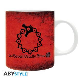 Taza The Seven Deadly Sins 7 pecados capitales 320ml