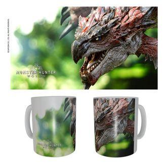 Taza Rathalos Monster Hunter World 320 ml