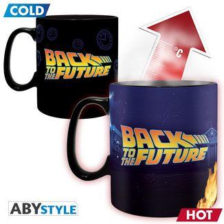 DeLorean Thermal Mug Back to the Future 460ml