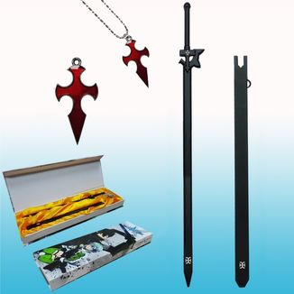 Set Necklace and Keychain Sword Art Online