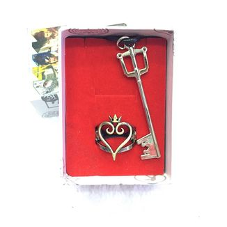 Set Kingdom Hearts Necklace and Ring