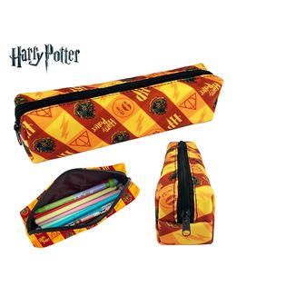 Leather Pencil Bag Harry Potter Symbols