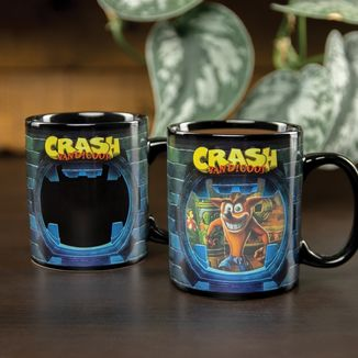 Crash Bandicoot Heat Change Mug